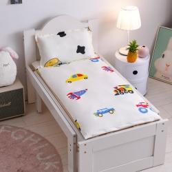 喵贝儿童婴儿隔尿垫防水可洗纯棉防尿通用幼儿园宝宝床垫缤纷汽车