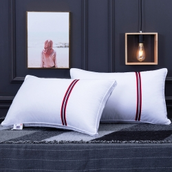 興絲露枕芯 網邊絎縫立體枕  雙邊枕頭 酒店枕 網銷贈品