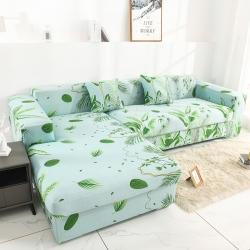 2020新款沙發套全包萬能套罩沙發墊沙發巾蓋布夏威夷之旅