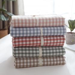 水洗棉单品被套(7规格现货)水洗棉被套单件无印良品