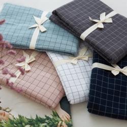 (總)北歐良品 枕套色織全棉水洗棉單枕套 單只裝 一對拍2
