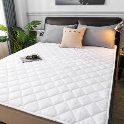 2021 亲肤磨毛床垫可机洗床褥子床护垫宾馆席梦思白色保护垫