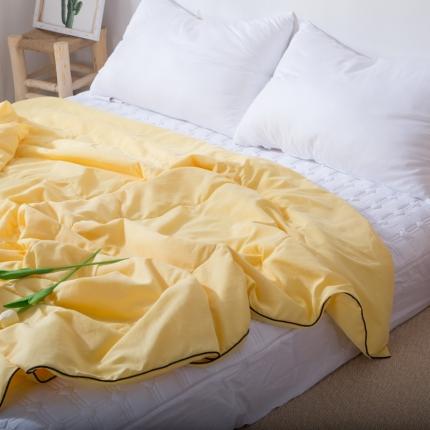 (总)澳玛尼 2020新款水洗棉纯色夏被