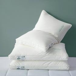 60支A类母婴级别柏拉图酒店枕无荧光全棉枕头枕芯护颈椎安睡枕