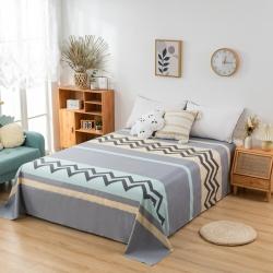 (总)橡果家纺 2020喷气新款舒适纯棉全棉单品床单