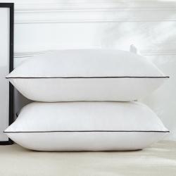 兴丝露枕芯 亲肤绗绣枕芯 羽丝枕 枕头