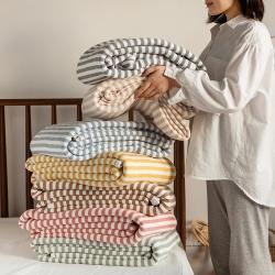 (总)法芙娜家纺 2021天竺棉夏凉被全棉空调被纯棉夏被