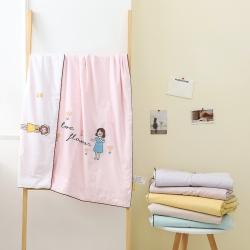 (总)A类40s全棉绣花儿童夏被幼儿园被子夏凉被空调被