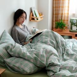 (总)北欧良品 A类色织水洗棉ins水果格四件套单品有售