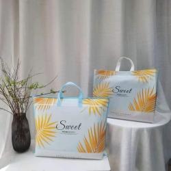 2021年夏被新品无纺布手提包装袋南通家纺包装厂家直 销现货