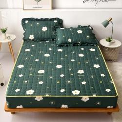 2021新款 夹棉床笠加厚透气床罩套宿舍床垫套防尘罩全包