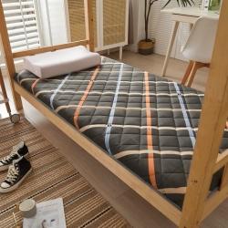 (总)垫之坊 2021新款磨毛学生单人床垫厚度约3cm