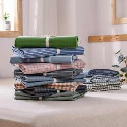 恋人优选良品纯棉床单单件全棉1.8m夏季水洗棉被单人学生宿舍