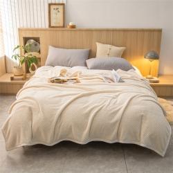 (总)兰紫橙家纺 2021新款贝贝绒毛毯 280克重加厚