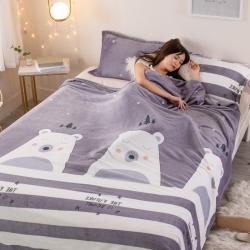 2021新款 法兰绒毛毯珊瑚绒毛毯云貂绒毛毯法莱绒毛毯床单