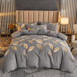 【爆款】加厚全棉磨毛印花四件套秋冬纯棉床上用品三件套加大床单