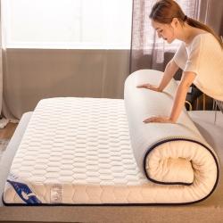(总)暖季2021新款乳胶记忆棉床垫加厚高回弹透气针织棉床垫