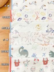 (总)梦幻岛品质家居 竹纤维纱布防水隔尿垫70×90cm