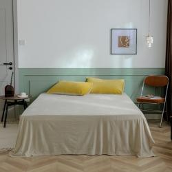 (总)北欧良品 21纯色天鹅绒牛奶法莱兰绒双拼款单品床单床笠