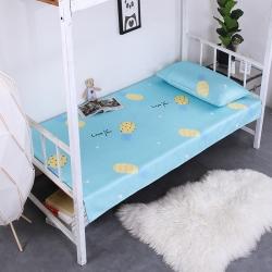 (總)尚莎家紡 學生可水洗冰絲涼席床單120*200CM