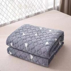 新款法莱绒床护垫可水洗床垫保榻榻米垫子 爱巢