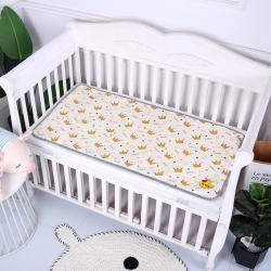 原良居 2019新品全棉婴儿隔尿垫 米色皇冠