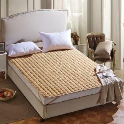 清单家纺 3D透气床垫  驼