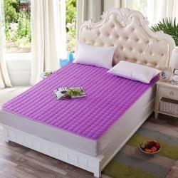 清单家纺 3D透气床垫  紫色