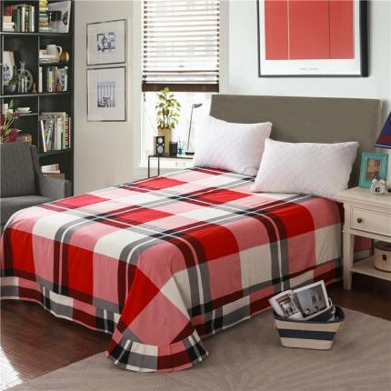 艾羽家纺 全棉高级磨毛澳棉系列单品床单 甜蜜生活