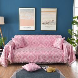 (总)共鸣沙发垫 2019新款提花沙发巾