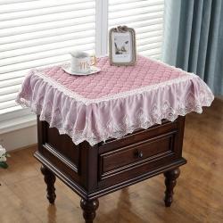 共鸣沙发垫  2019新款床头柜垫毛绒系列 短毛绒粉