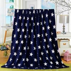 多多爱毯业 2018新款200克法莱绒毛毯 星星点灯