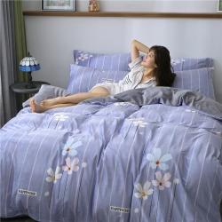 马先生 2019水晶绒四件套法兰绒四件套床单款 帘幽梦