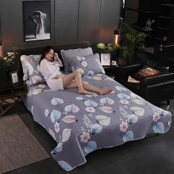 (总)骉腾家纺  2019新款纯棉多功能床盖夏被地毯