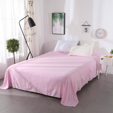(总)畅畅家纺 水洗棉单品床单