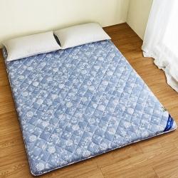 (总)锦丝钰床垫 2019新款日式榻榻米竹炭磨毛印花床垫