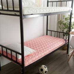 布卢姆床垫 美国英威达全棉抗菌防螨纯色防水床垫玉色厚度5cm