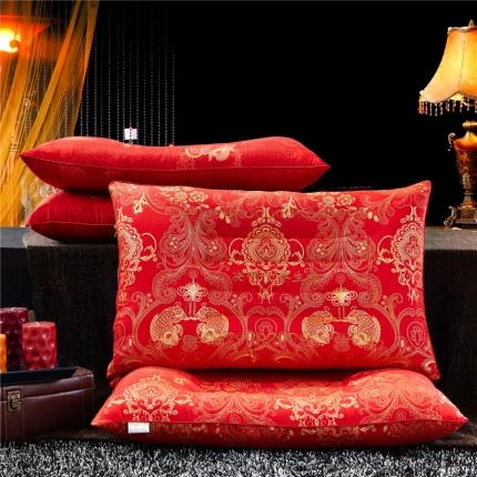 兴煌枕业 婚庆大红 决明子养生枕