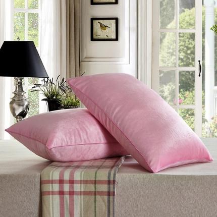 兴煌枕业 水晶绒 舒适枕青春版粉红