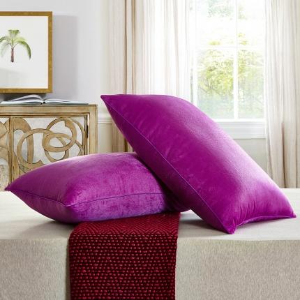 兴煌枕业 水晶绒 舒适枕青春版紫