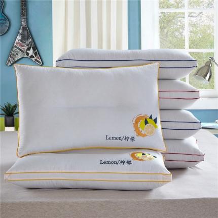 兴煌枕业 绣花 柠檬