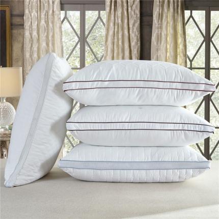 (总)兴煌枕业 全棉绗缝立体羽丝绒枕