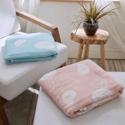 (总)来菲毛毯 2019新款全棉纱布夏被