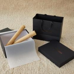 正大包装 天地盖礼盒包装小号黑色33X26X15