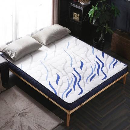 钻爱床垫 新款针织立体床垫蓝色(6.5厘米)