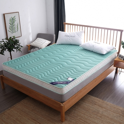 钻爱床垫2021乳胶记忆棉立体透气床垫立体6.5cm 翡翠绿