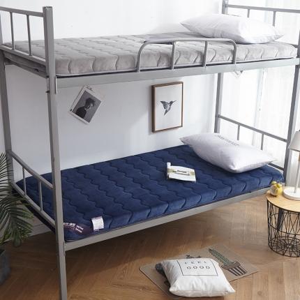 钻爱床垫 2021年新款学生宿舍床垫单边 蓝色