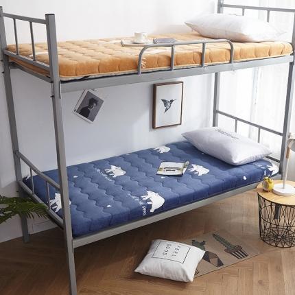 钻爱床垫 2021年新款学生宿舍床垫单边 北极熊