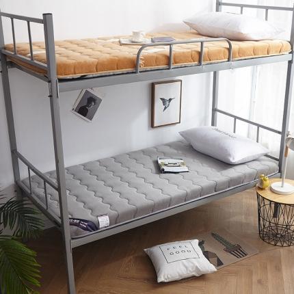 钻爱床垫 2021年新款学生宿舍床垫单边 灰色