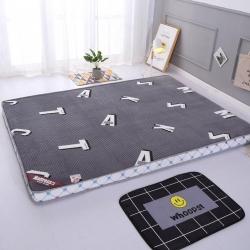 优莱床垫 5d魔法绒新款床垫学生床垫 轻奢时代灰